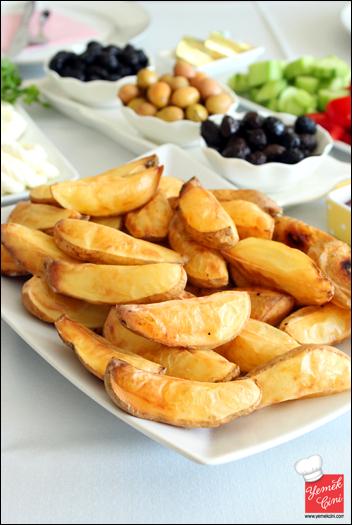 Yağsız Fırın Patates