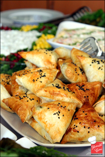 Etli & sebzeli muska böreği
