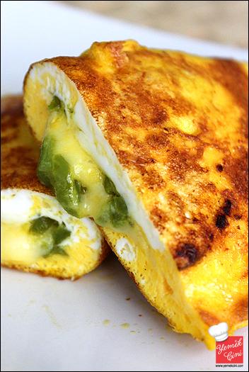İçli Yumurta (Biberli & Kaşarlı)