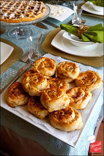 Sirkeli & Patatesli Gül Böreği