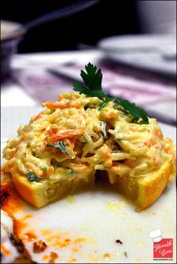 Portakal Diliminde Kereviz Salatası