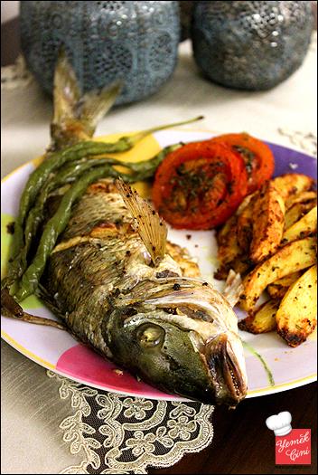 Fırında Mırmır Balığı