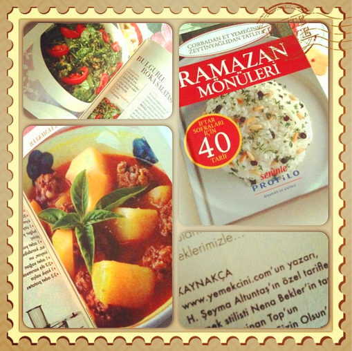 Seninle dergisi - Ramazan eki