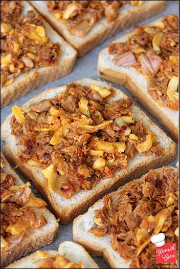Ton Balıklı & Kaşarlı Ekmek Üstü