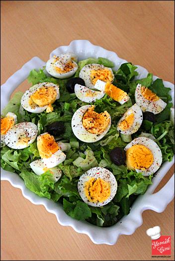 Yumurta Piyazı